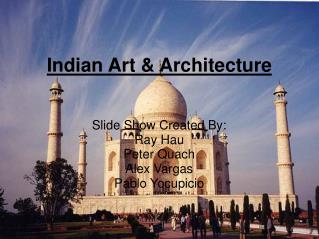 Indian Art & Architecture