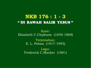 NKB 176 : 1 - 3