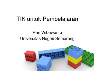 TIK untuk Pembelajaran