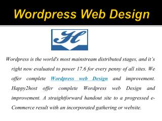 Innovative Wordpress Website Designer and Developer