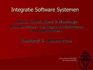 Integratie Software Systemen