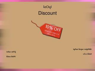 ktOqI Discount