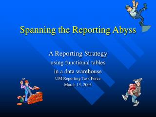 Spanning the Reporting Abyss