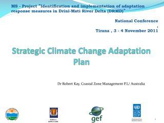 Strategic Climate Change Adaptation Plan