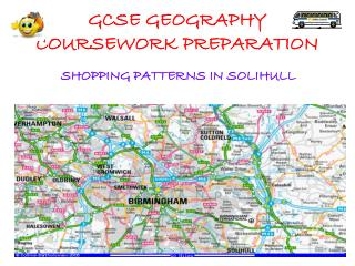 GCSE GEOGRAPHY COURSEWORK PREPARATION