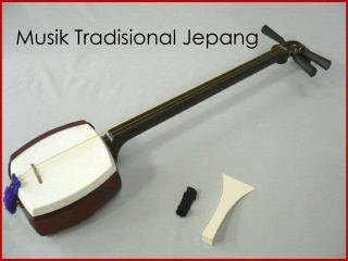 Musik Tradisional Jepang