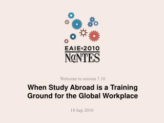 When Study Abroad is a Training Ground for the Global Workplace
