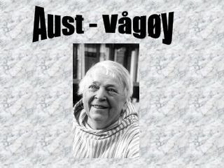 Aust - Vågøy