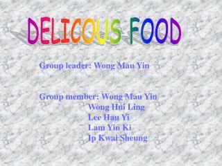 DELICOUS FOOD