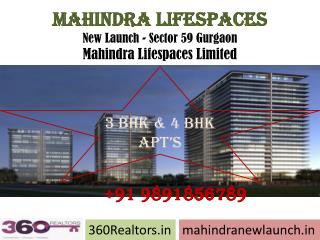 Real Estate: For Sale New Home CALL9891856789 MAHINDRA LIFES