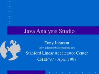 Java Analysis Studio