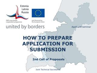 HOW TO PREPARE  APPLICATION FOR SUBMISSION