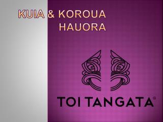 Kuia  &  Koroua  Hauora