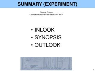 SUMMARY (EXPERIMENT)