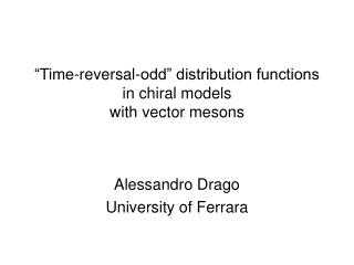 """Time-reversal-odd"" distribution functions in chiral models with vector mesons"