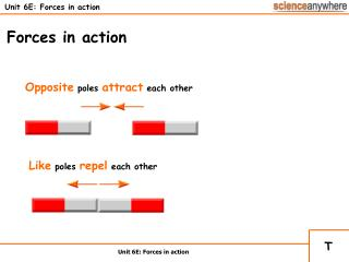 Unit 6E: Forces in action