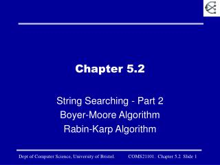 Chapter 5.2