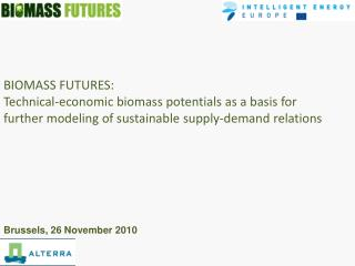 BIOMASS FUTURES: