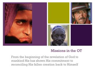 Missions in the OT