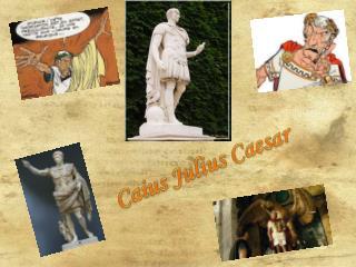 Caius Julius Caesar