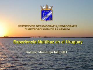 SERVICIO DE OCEANOGRAF�A, HIDROGRAF�A  Y METEOROLOG�A DE LA ARMADA