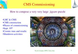 CMS Commissioning