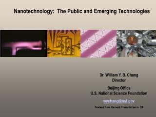 Nanotechnology: Public