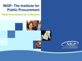 NIGP: The Institute for Public Procurement