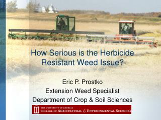 How Serious is the Herbicide  Resistant Weed Issue?