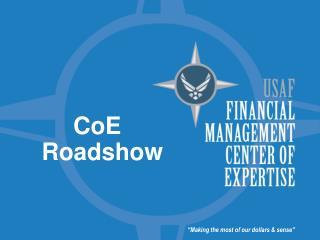 CoE Roadshow