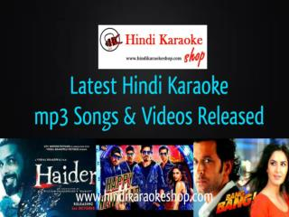 Bang Bang Hindi Karaoke with Lyrics