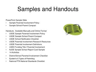 Samples and Handouts