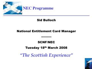 NEC Programme