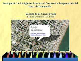 Participación de los Agentes Externos al Centro en la Programación del Dpto. de Orientación