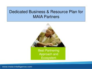 Dedicated Business & Resource Plan for MAIA Partners