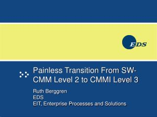 Painless Transition From SW-CMM Level 2 to CMMI Level 3