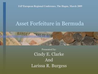 Asset Forfeiture in Bermuda