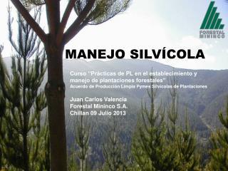 MANEJO SILV�COLA