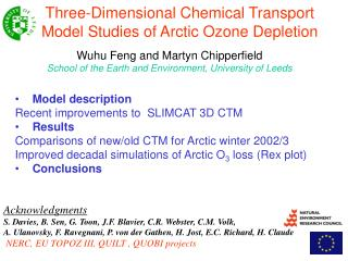 Three-Dimensional Chemical Transport Model Studies of Arctic Ozone Depletion