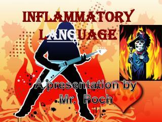 Inflammatory L ang uage