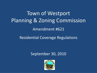 Town of Westport Planning & Zoning Commission