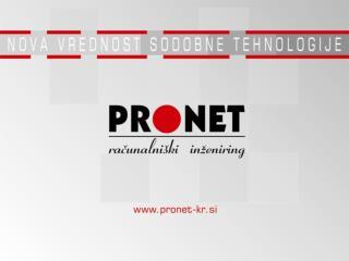 ProBi3 PRONET poslovna inteligenca