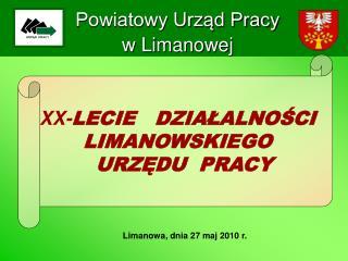 Powiatowy Urząd Pracy w Limanowej