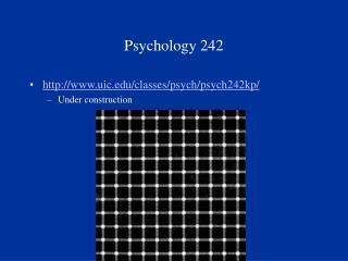 Psychology 242