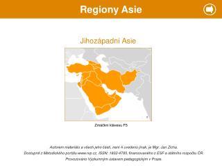 Regiony Asie