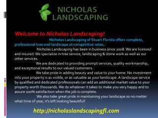 Landscaping Stuart FL, Landscaper Stuart FL, Lawn Care Stuar