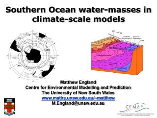 Southern Ocean water-masses in climate-scale models