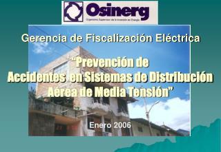 Gerencia de Fiscalización Eléctrica