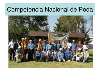 Competencia Nacional de Poda