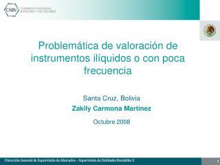 Problem�tica de valoraci�n de  instrumentos il�quidos o con poca frecuencia